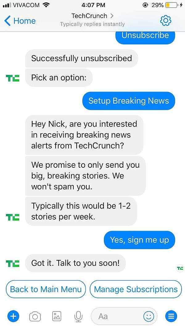 TechCrunch Chatbot2