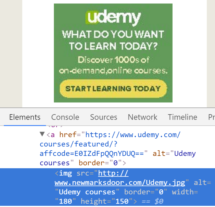 View source Udemy