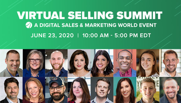 Virtual Selling Summit  - All Speakers - Email HeaderEmail - Top
