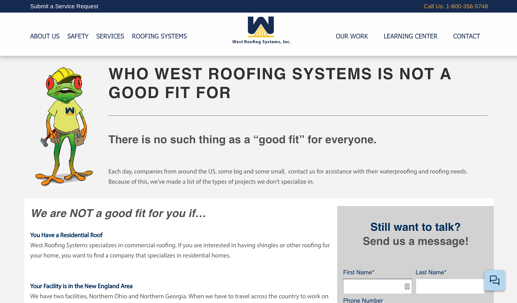 West Roofing Systems