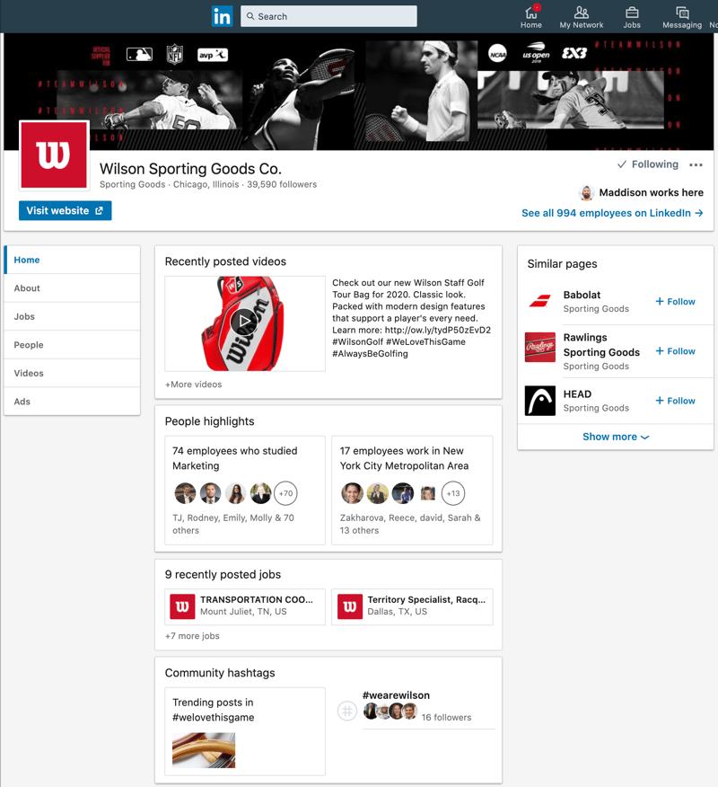 Wilson_Sporting_Goods_Overview_LinkedIn