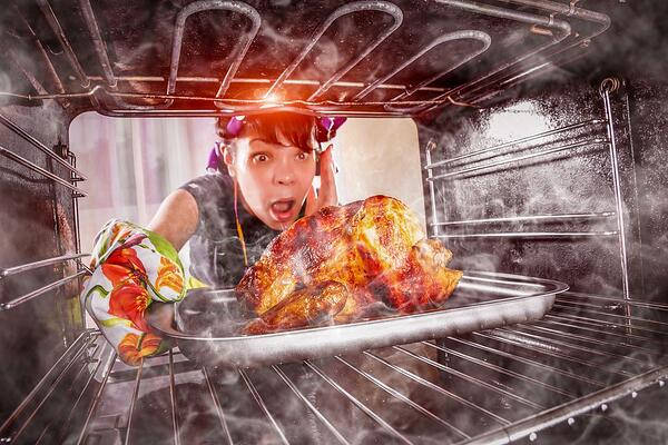Chicken And Pig On Crutches: 17 Of The Strangest Thanksgiving Stock Photos Of All-Time