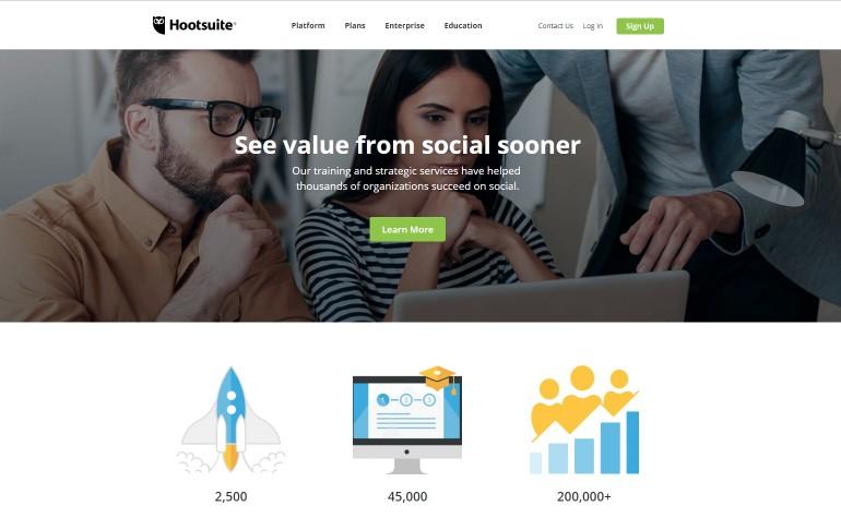 Hootsuite Services Page