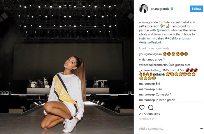 find-micro-influencers-on-instagram-ariana-grande
