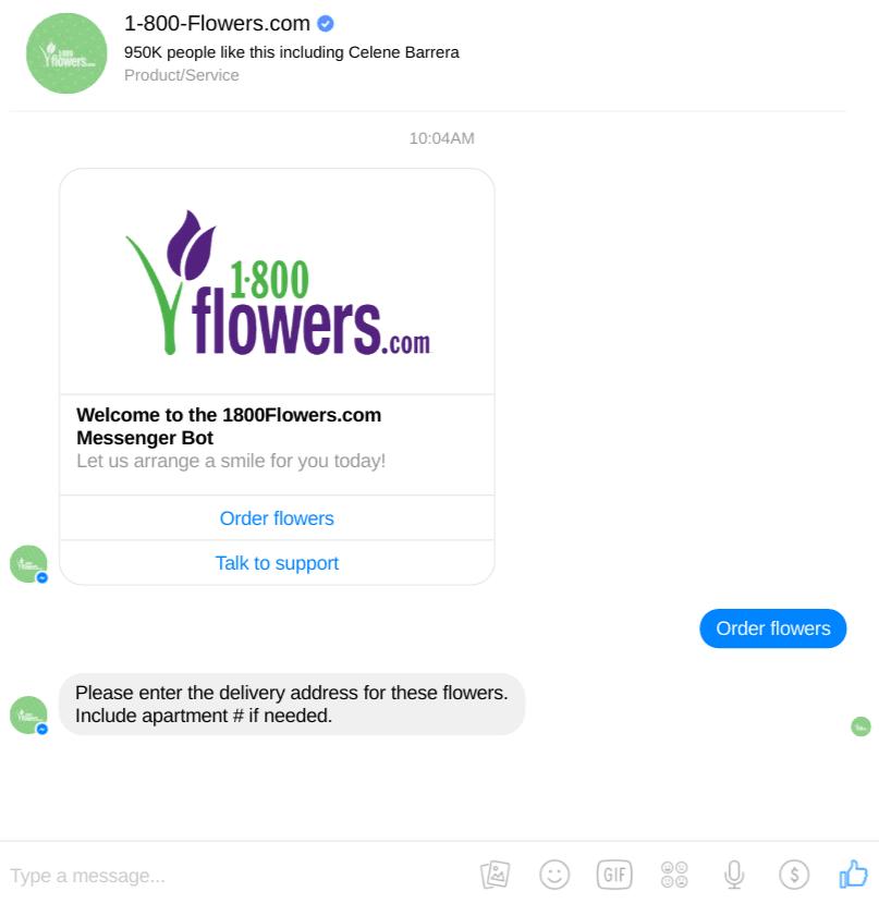 1800FlowersChatbot