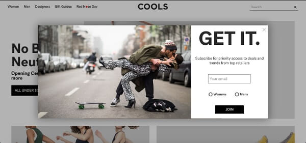 Call-to-Action Examples Cools