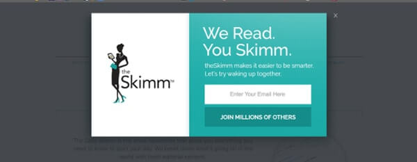 Call-to-Action Examples Skimm