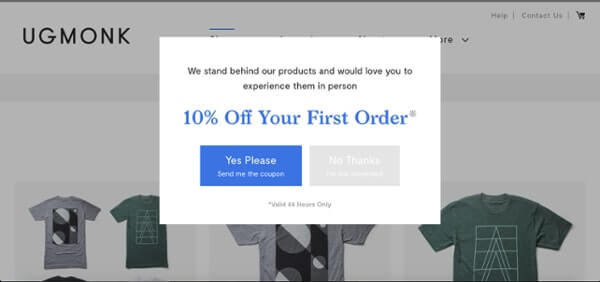 Call-to-Action Examples UGMonk