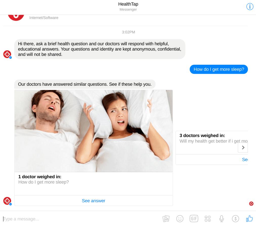 HealthTapChatbot