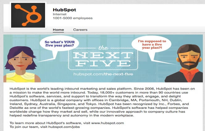 LinkedIn Company Pages HubSpot
