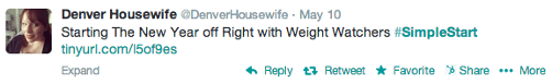 Weight Watchers Social Media Campaign