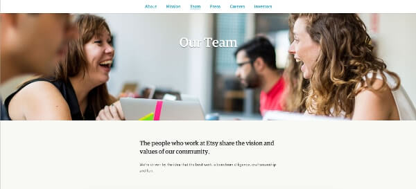 Best Team Page Etsy