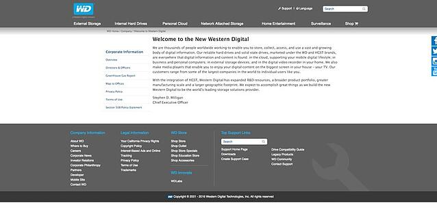 Company Profile Western Digital