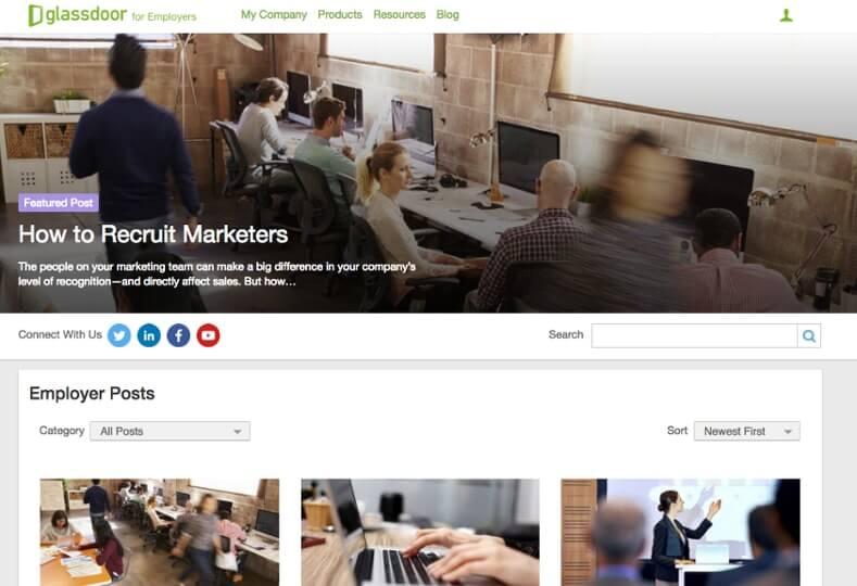 Examples of Business Blog Glassdoor