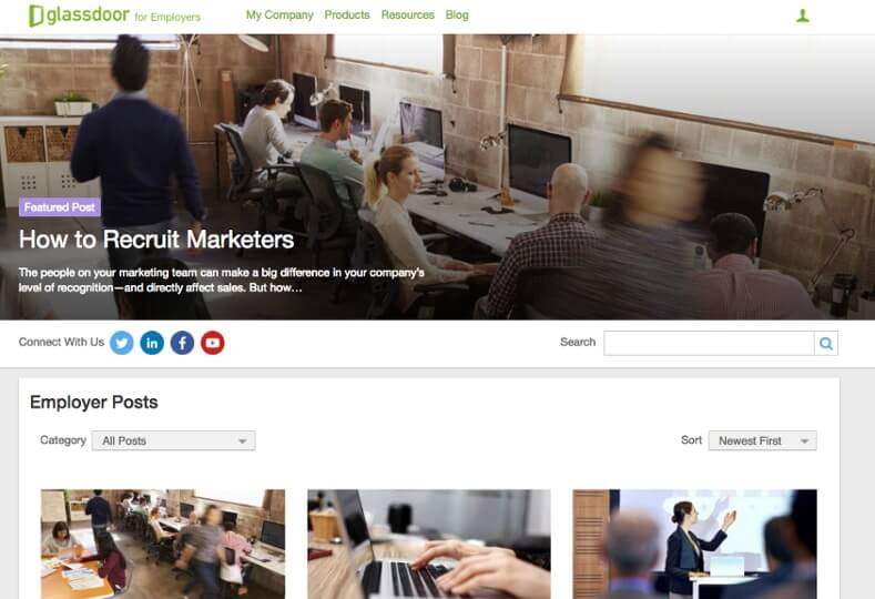 Examples of Business Blog Glassdoor