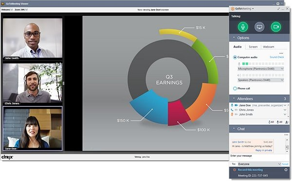 SaaS Marketing Tools GoToMeeting