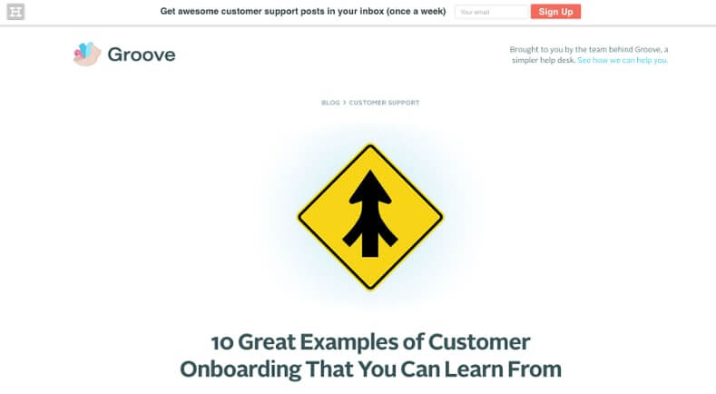 Examples of Business Blog Groove