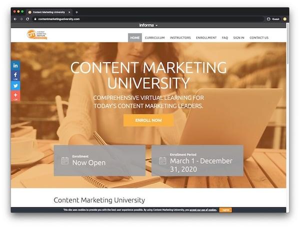 Content Marketing Institute University