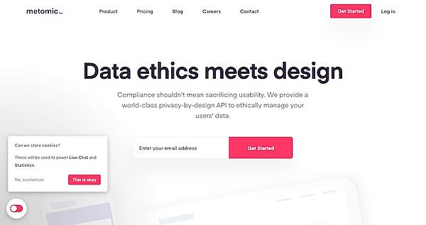 Metomic - Data Ethics and User Privacy