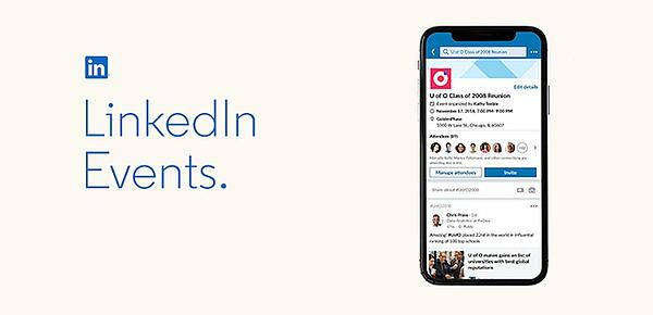 LinkedIn Events - coming soon to you