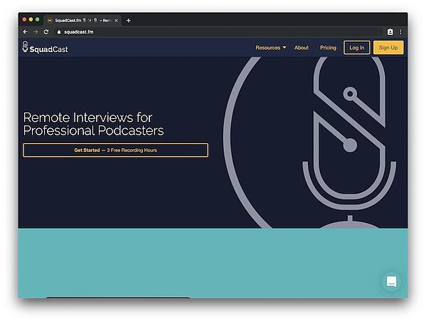 Squadcast - high quality remote interview tooling in the browser