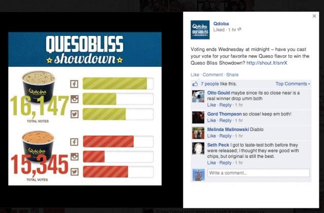 qdoba social meda campaign
