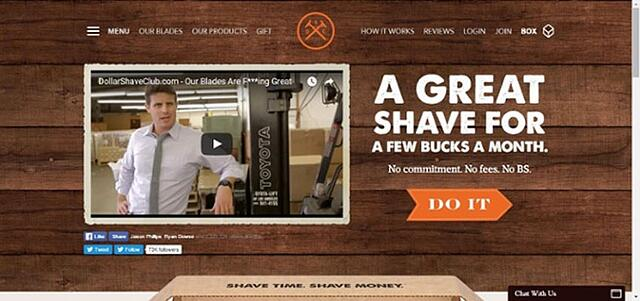 dollarshaveclub value proposition
