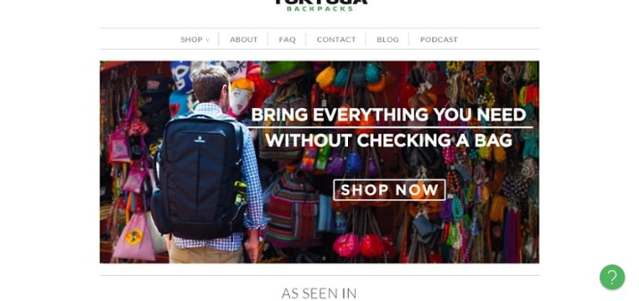tortugabackpacks value proposition