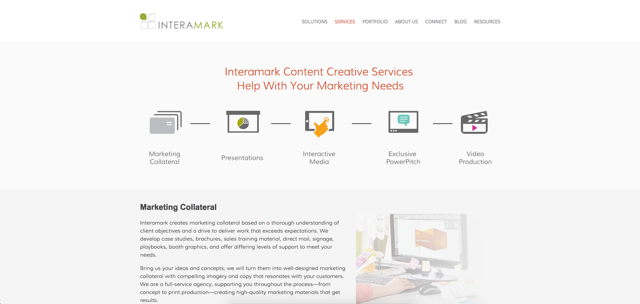 Interamark services page