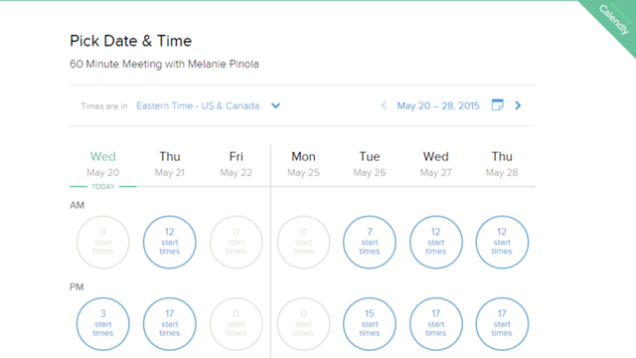 web based meeting scheduler project