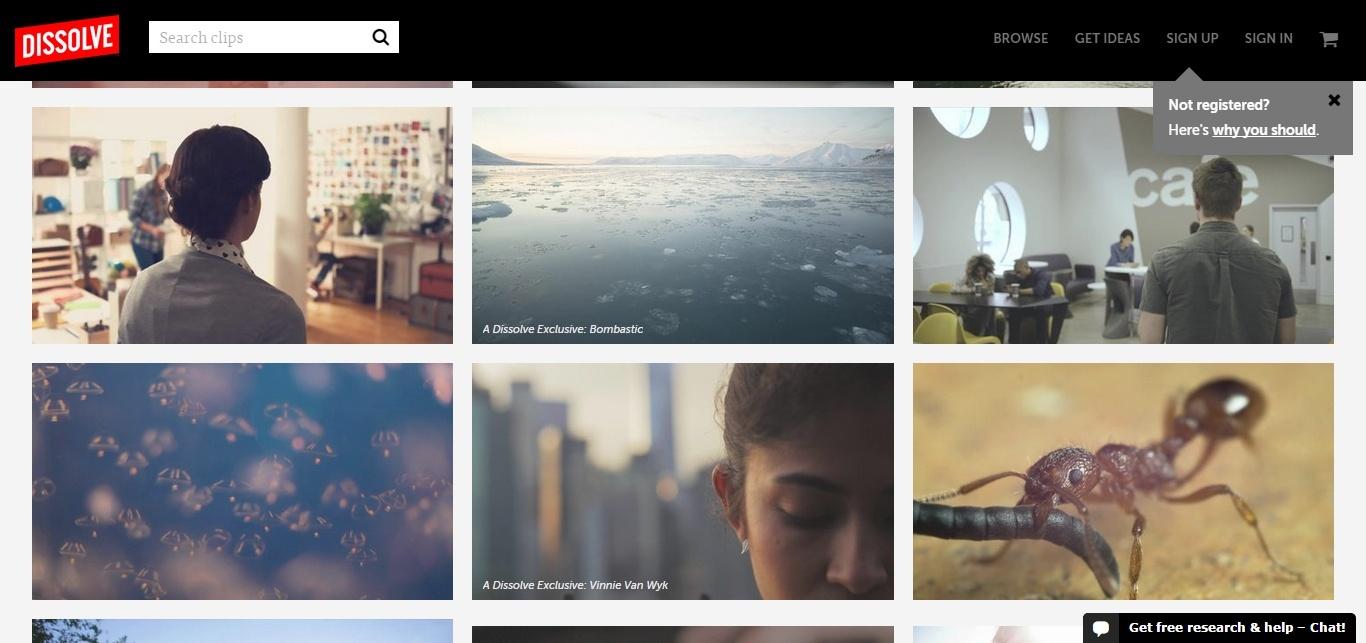 dissolve_visual_content