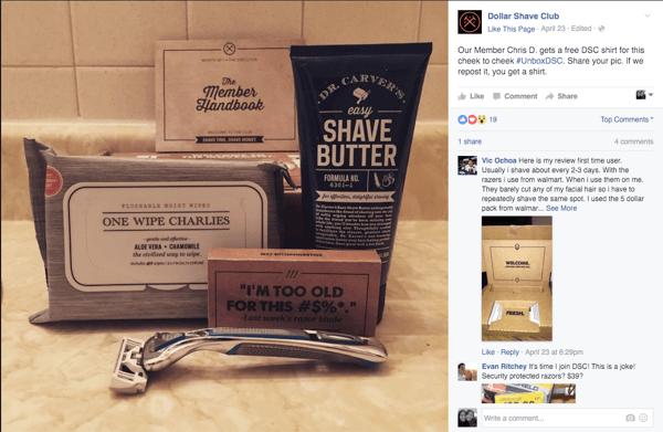facebook-engagement-dollar-shave-club