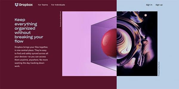 dropbox-homepage