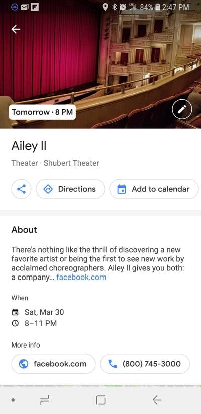 Events On Google Maps Ui3