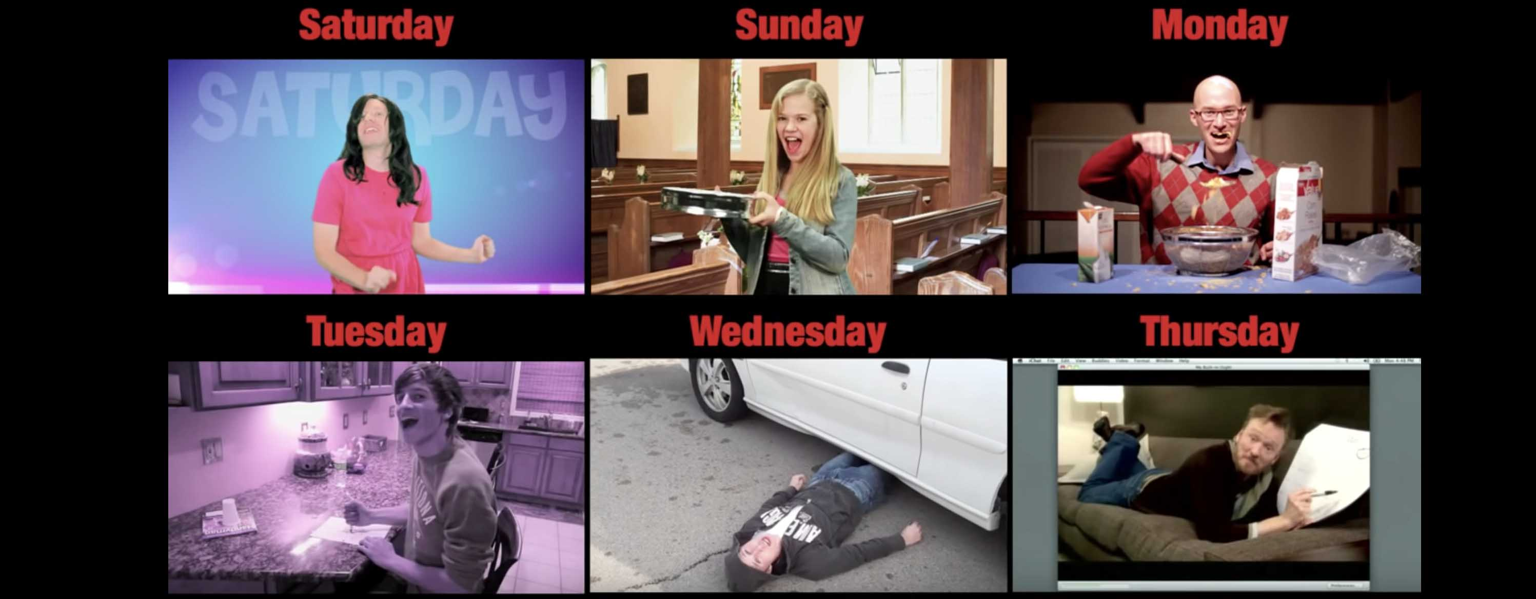 friday parodies