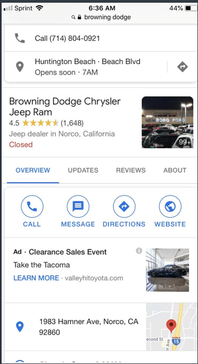 google-my-bus-competitor-ads