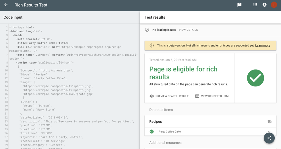 Are Your Snippets Working? Google's Rich Results Tool Now Allows You to Edit & Test Code in Real Time