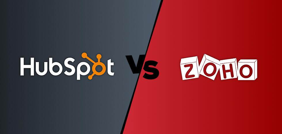 HubSpot vs. Zoho CRM: Which is right for you?