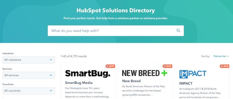 hubspot-partner-directory