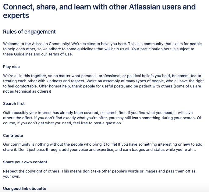 image 5 - sample community guidelines