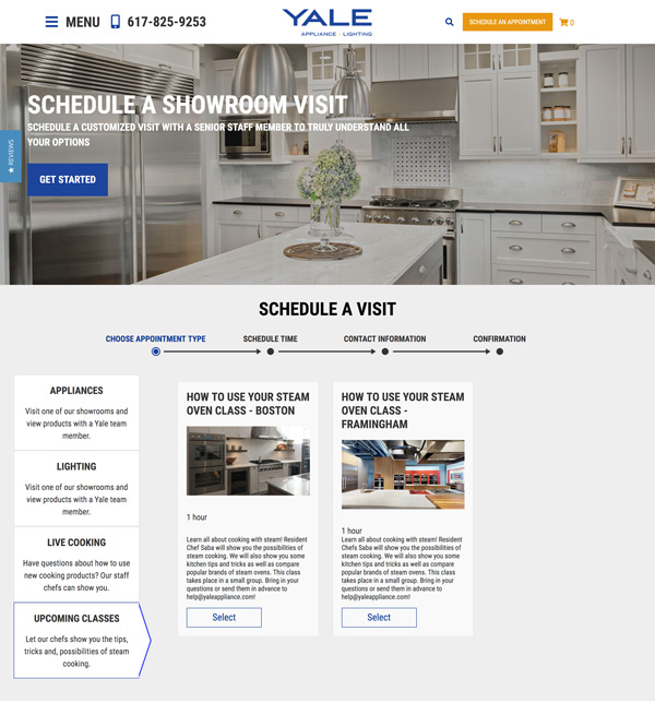 landing-page-example-yale-appliance