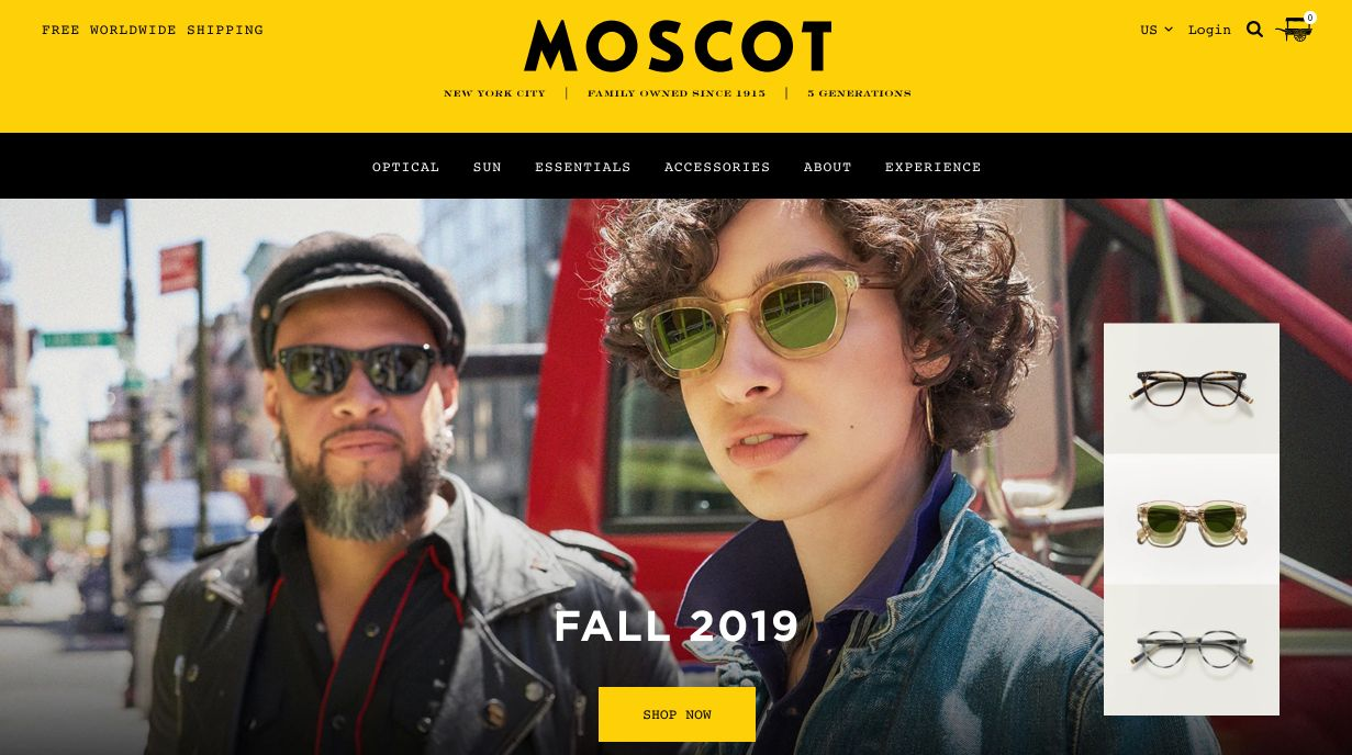 moscot-homepage
