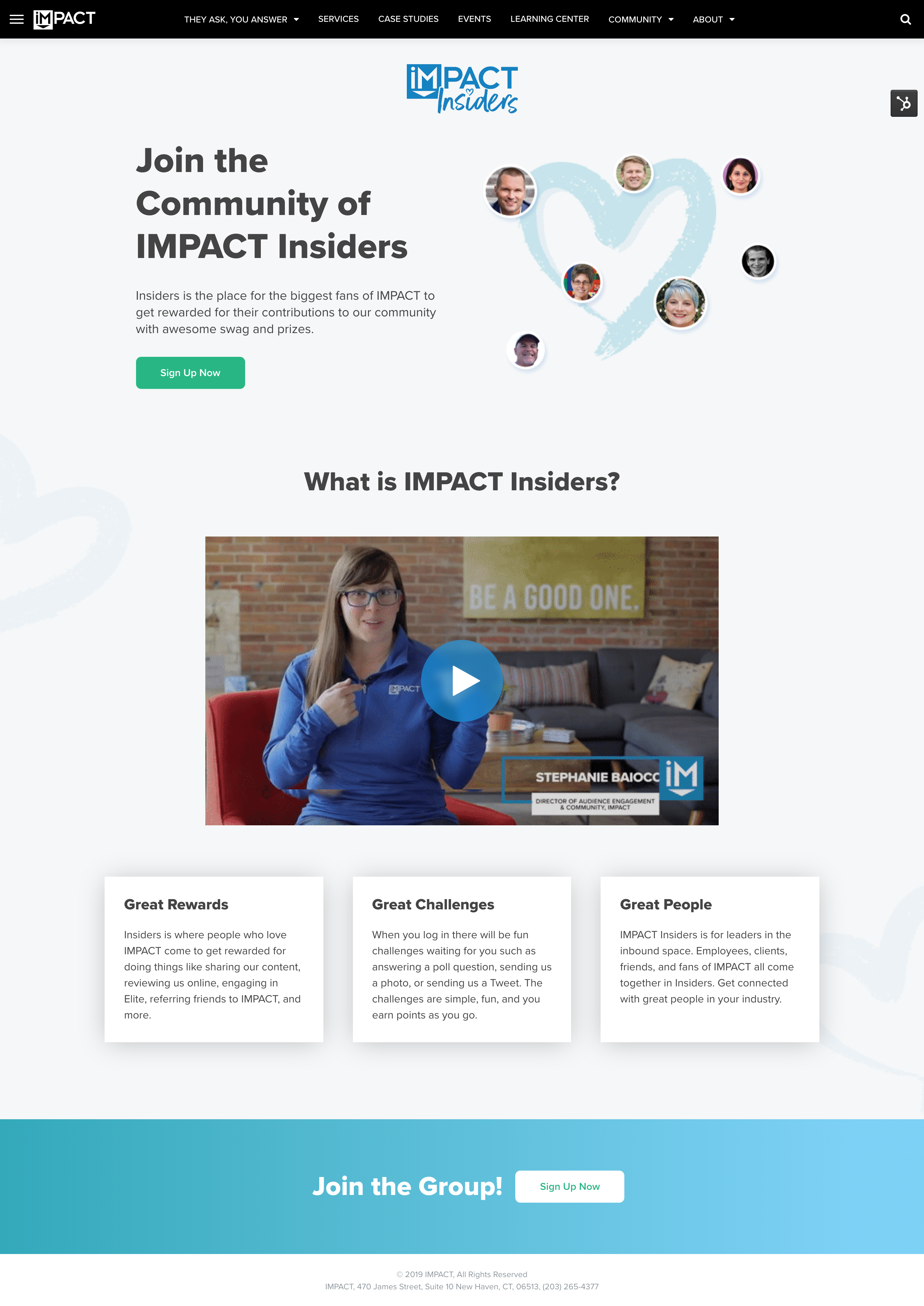 impact insiders invite email