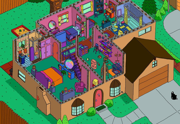 simpsons_house_second_floor