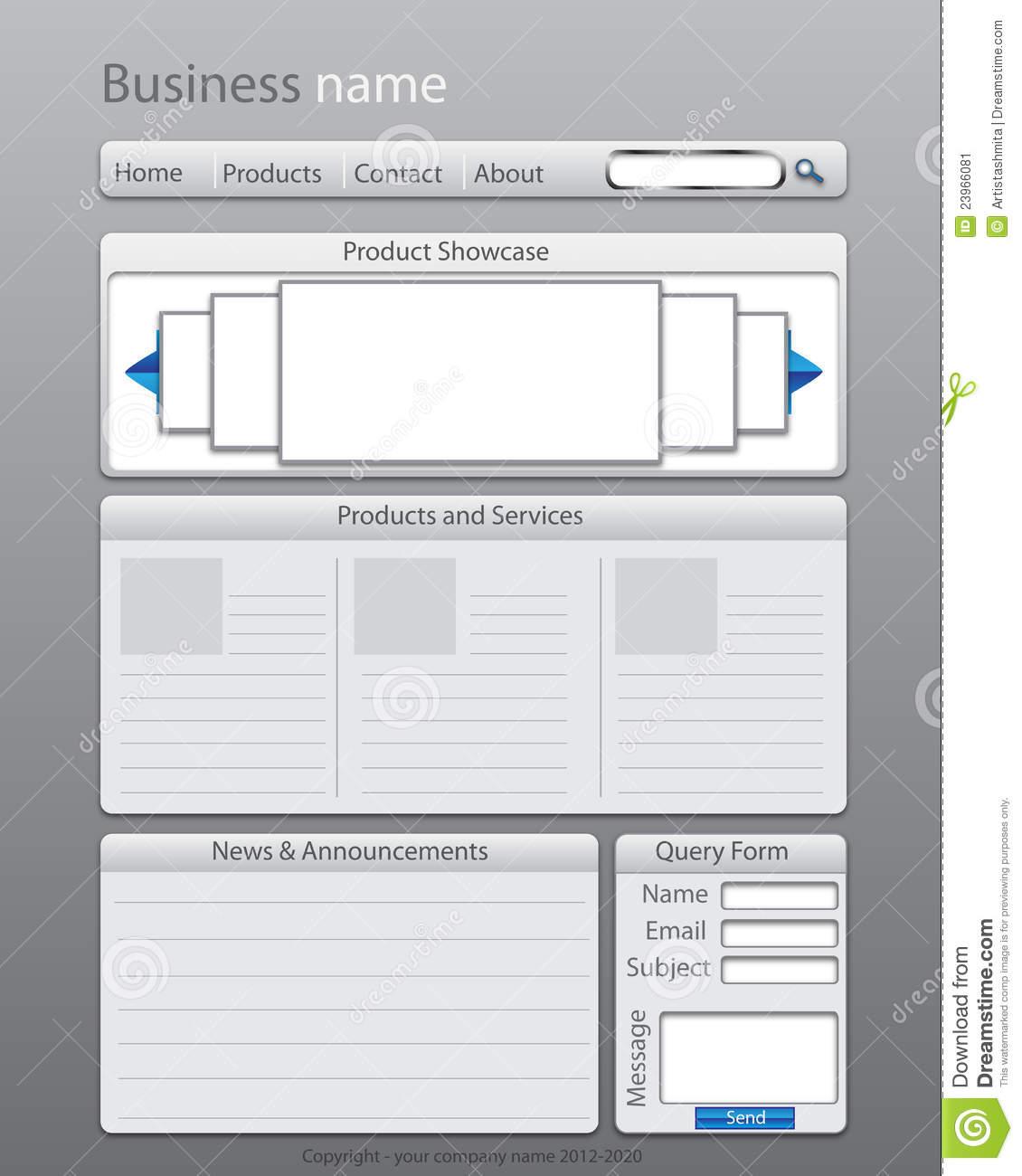 web_page_layout_content_organization