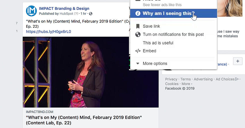 """Why Am I Seeing This? -- A New Level of Ad Transparency is Coming to Facebook"