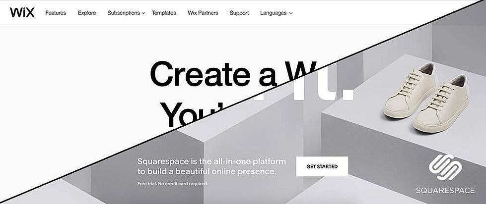 WIX vs. Squarespace: Top 7 differences and similarities to know