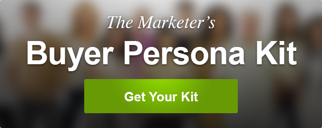 The Marketers Buyer Persona Kit