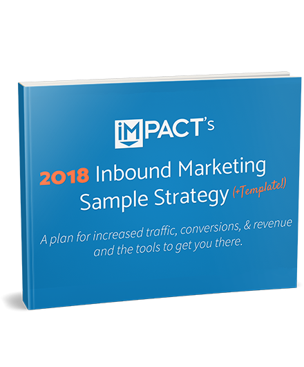 IMPACT Inbound Marketing Strategy Template