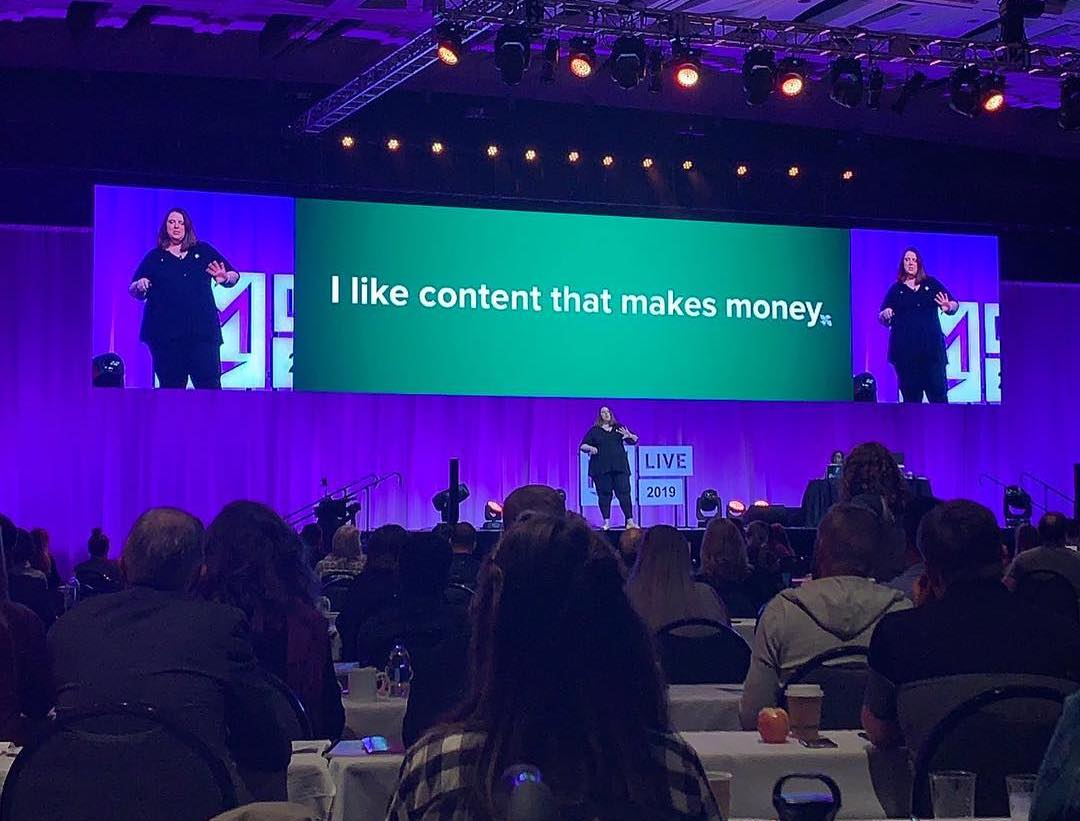 The Most Important Lesson I Learned About Public Speaking at #IMLive19